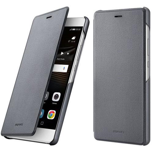 genuine-huawei-p9-lite-dark-grey-flip-case-1