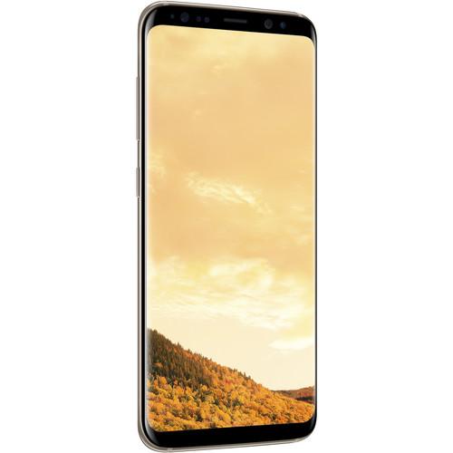 Smartphone-Samsung-Galaxy-S8-64GB-Unlocked-Maple-Gold